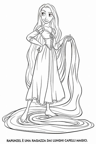 Tangled Coloring Rapunzel Printable Pages Printables Activity
