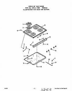 Roper Gas Range Oven Door Parts