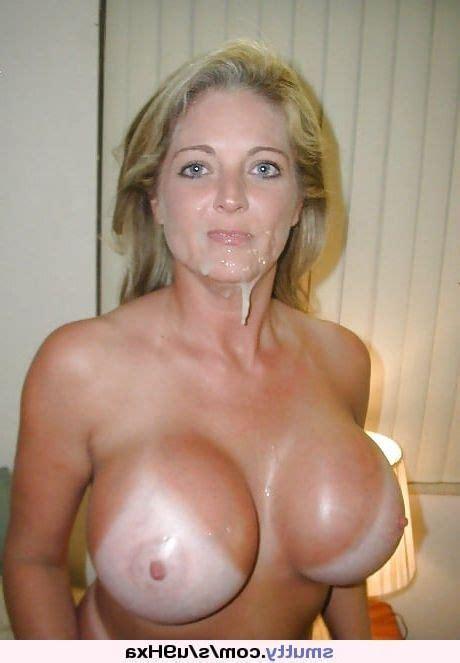 Asian Big Tit Facial Milf