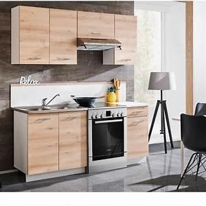 Meuble Cuisine Bois Naturel : meuble de cuisine bois naturel x 5 desserte et rangement de cuisine salle manger et ~ Melissatoandfro.com Idées de Décoration