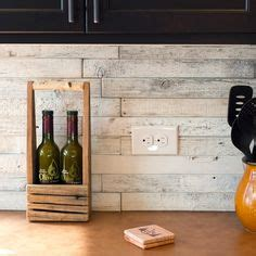 kitchen with tiles back splash made from reclaimed wood the contrast 3497