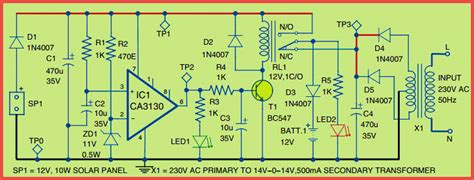 How Make Hybrid Solar Charger Circuit Your