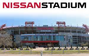 Tennessee Titans Stadium Nashville Nissan