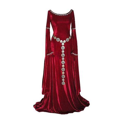 pin  carolion  arthurian medieval dress dresses