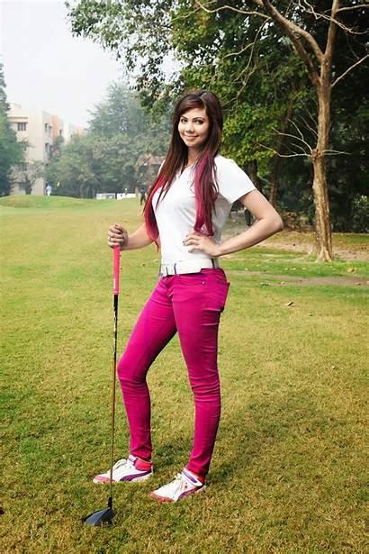 Sharmila Nicollet Golf Golfer Indian Wallpapers Woods
