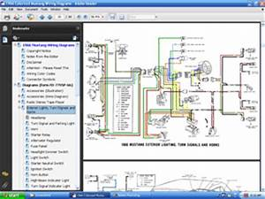 1966 Mustang Complete Wiring Diagram : 1966 colorized mustang wiring diagrams cd rom ebay ~ A.2002-acura-tl-radio.info Haus und Dekorationen