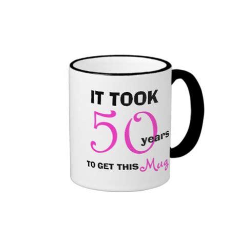 50th Birthday Gift Ideas for Women Mug   Funny   Zazzle