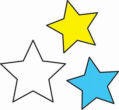 Space Stars Clipart Outer Clip Cliparts Outerspace