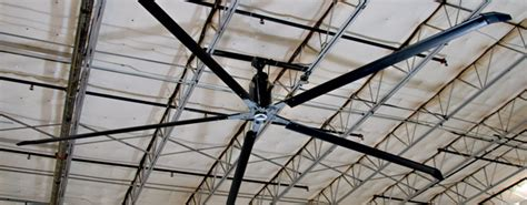 Large Hvls Industrial Ceiling Fans by Hvls Fans Big Industrial Fans