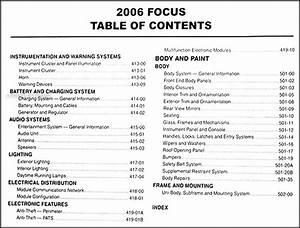 2006 Ford Focus Repair Shop Manual Original