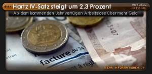 Hartz 4 Satz Berechnen : hartz iv satz steigt um 2 3 prozent ab dem kommenden jahr verf gen arbeitslose ber mehr geld ~ Themetempest.com Abrechnung