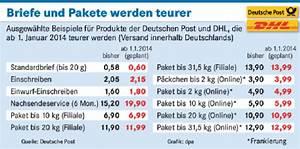 Porto Berechnen Deutsche Post : deutsche post porto f r briefe wird teurer schwarzpress ~ Themetempest.com Abrechnung