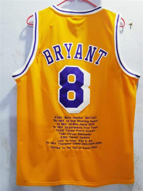 Los Angeles Lakers #8 Kobe Bryant Jersey Yellow » JERSEY ...