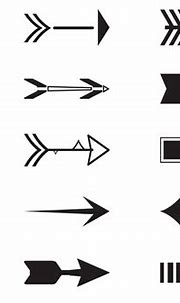 Arrow Silhouette Free Vector Art - (945 Free Downloads)