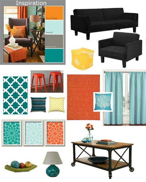 Teal And Orange Living Room Decor by Living Room Table Sets Walmart Yellow Ottoman Teal Rug And