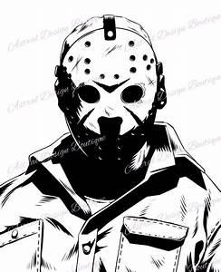 Jason, Friday, The, 13th, Digital, Download, Image, File, Svg, Png