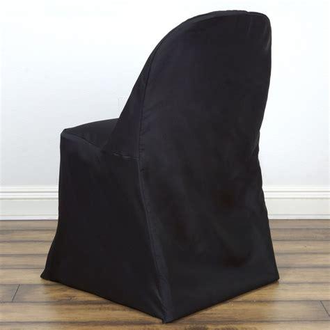 black folding chair cover efavormart