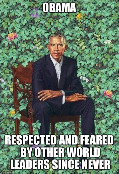 Obama Portrait Memes - obama portrait imgflip
