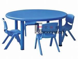 Table Ronde Plastique : le plastique badine la table ronde et 4 chaises pour le jardin d 39 enfants photo sur fr made in ~ Teatrodelosmanantiales.com Idées de Décoration