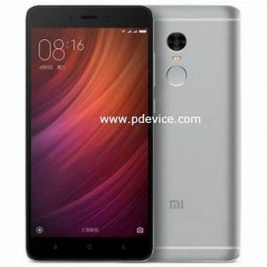 Xiaomi Redmi Note 4x Specifications  Price Compare
