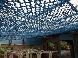 Filet De Camouflage Renforcé : vente filet de camouflage bleu multi usage et anti ~ Dode.kayakingforconservation.com Idées de Décoration