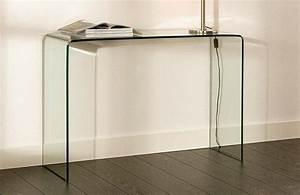 Console En Verre : table console tous les fournisseurs mobilier console meuble console console en verre ~ Teatrodelosmanantiales.com Idées de Décoration