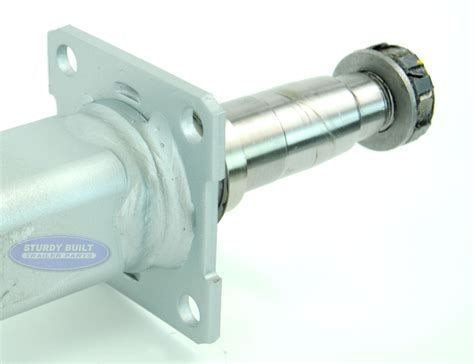 Boat Trailer V Axles by Galvanized Boat Trailer Axle 3500 V Bend With Brake Flange