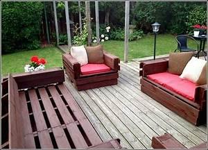 Salon Exterieur Design : salon de jardin palette bois fabrication avantages entretien ~ Teatrodelosmanantiales.com Idées de Décoration