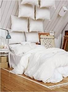 Tete De Lit Avec Coussin : la t te de lit en coussin ~ Melissatoandfro.com Idées de Décoration