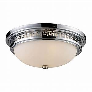 Install flush mount ceiling light trans globe easy