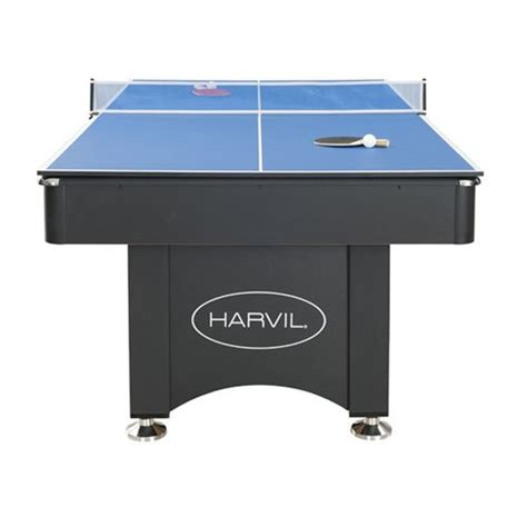 7ft pool table with table tennis top harvil 7 foot pool table with table tennis top toys