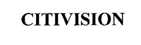 citivision trademark  citigroup  serial number
