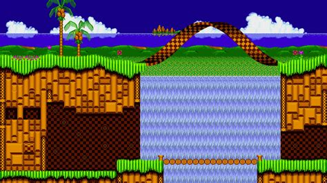 emerald hill zone hd wallpaper background image