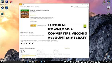 scaricare gratis minecraft windows  edition  vecchio