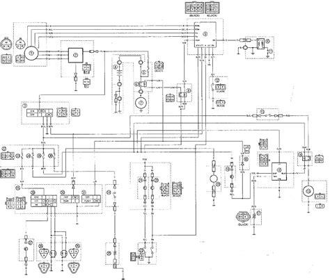 Yamaha Wiring Diagram by Yfm400fwn Wiring Diagrams Yamaha Big 4wd Atv