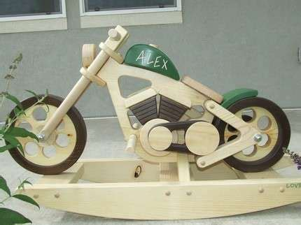 images  wooden motorcycle rocker  pinterest toys woodworking plans  wings