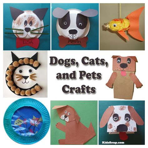 cats dogs and pets preschool activities and kidssoup 146 | Dogs Cats Pets Crafts Kids KS