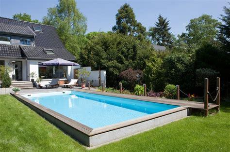 Poollandschaft Für Zuhause by Schwimmbad Fuer Den Garten Schwimmbadbau In Leverkusen