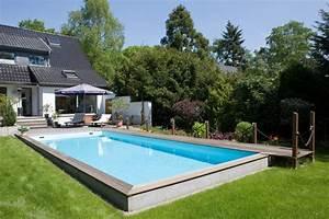Schwimmbad Im Garten : schwimmbad fuer den garten schwimmbadbau in leverkusen pinterest pools and garten ~ Whattoseeinmadrid.com Haus und Dekorationen