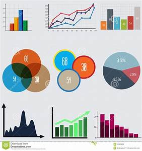 Infographic Elements  Business Diagrams And Graphics Stock