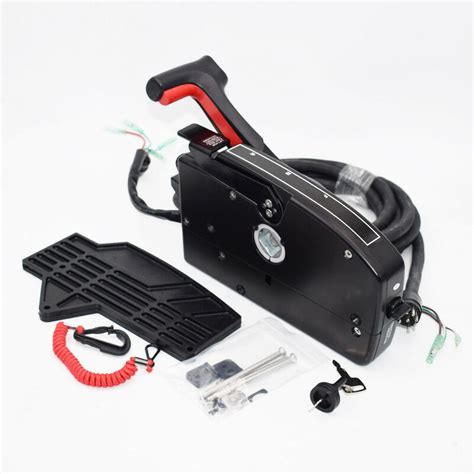 for mercury 8pin outboard boat side mount remote box cable 15ft handy ebay