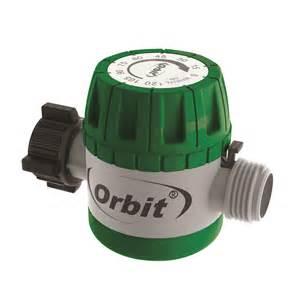 orbit mechanical garden water timer for hose faucet
