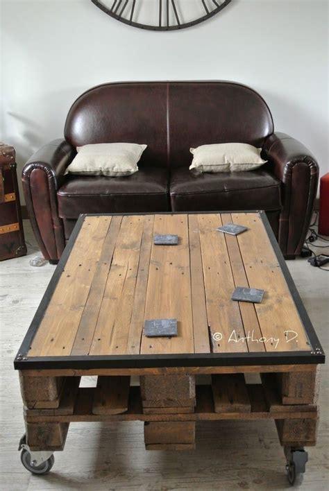 table basse palette la table basse en palettes d anthony palette table basse palette table et