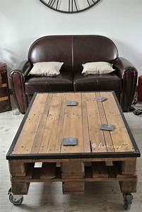Table Basse Palettes : la table basse en palettes d 39 anthony palette ~ Melissatoandfro.com Idées de Décoration