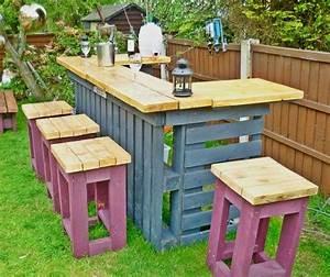 les 25 meilleures idees de la categorie palettes sur With idee pour jardin exterieur 3 les palettes reinventent le mobilier de jardin