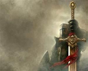 Medieval Knights Wallpaper   fantasy knights swords ...