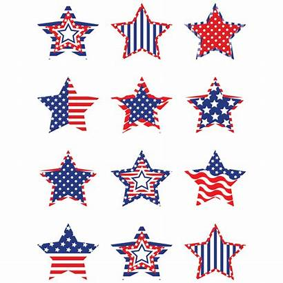 Patriotic Stars Border Mini July Accents 4th