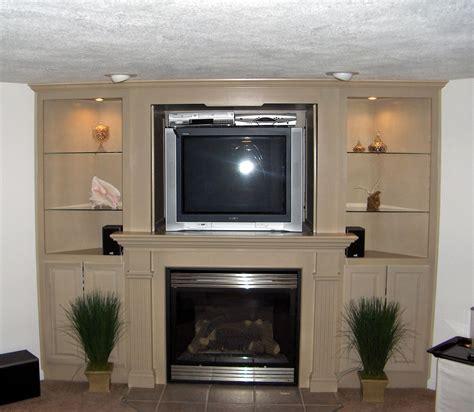 Corner Fireplaces Tv For Basements Entertainment