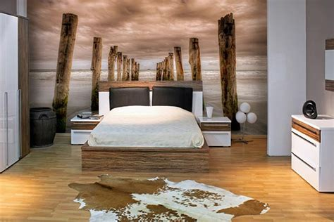 chambre papier peint papier peint chambre plage fantastique izoa