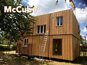 Container Fertighaus Kaufen : mccube hoch2 mccube h user zum mitnehmen ~ Michelbontemps.com Haus und Dekorationen